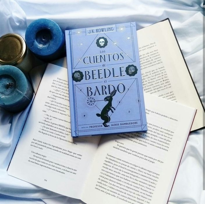 Portada del libro Los cuentos de Beedle el Bardo inspirado en el universo de Harry Potter