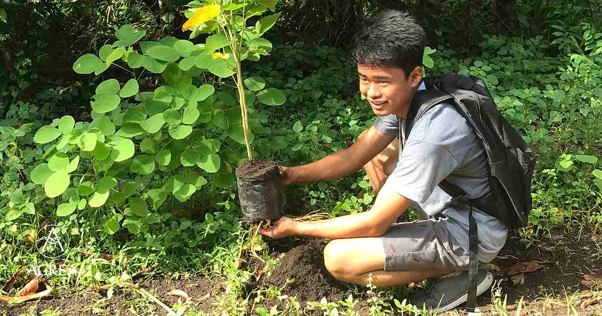 new filipino law requires students to plant 10 trees if they want to graduate.jpg?resize=412,232 - A Filipino Law Requires Students To Plant 10 Trees Before They Graduate