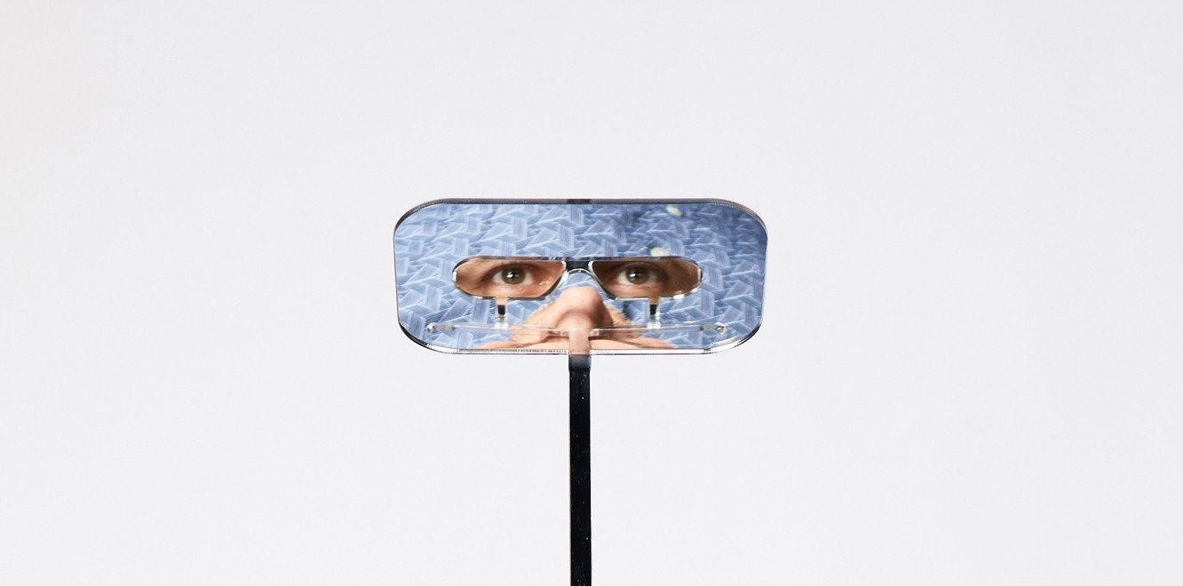 The glasses were created after the London-based creator was challenged to find solutions to everyday problems