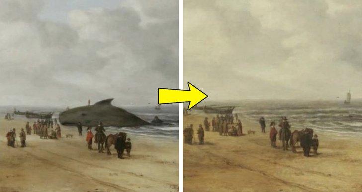 9 Pinturas famosas que esconden imágenes completamente diferentes debajo de sus capas de pintura (La Gioconda original es impresionante)