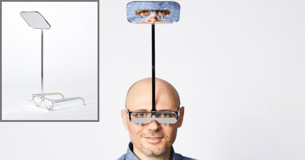 s1 5.png?resize=412,275 - Inventor Created Periscope Glasses For Short People To Make Them See Over Tall Crowds