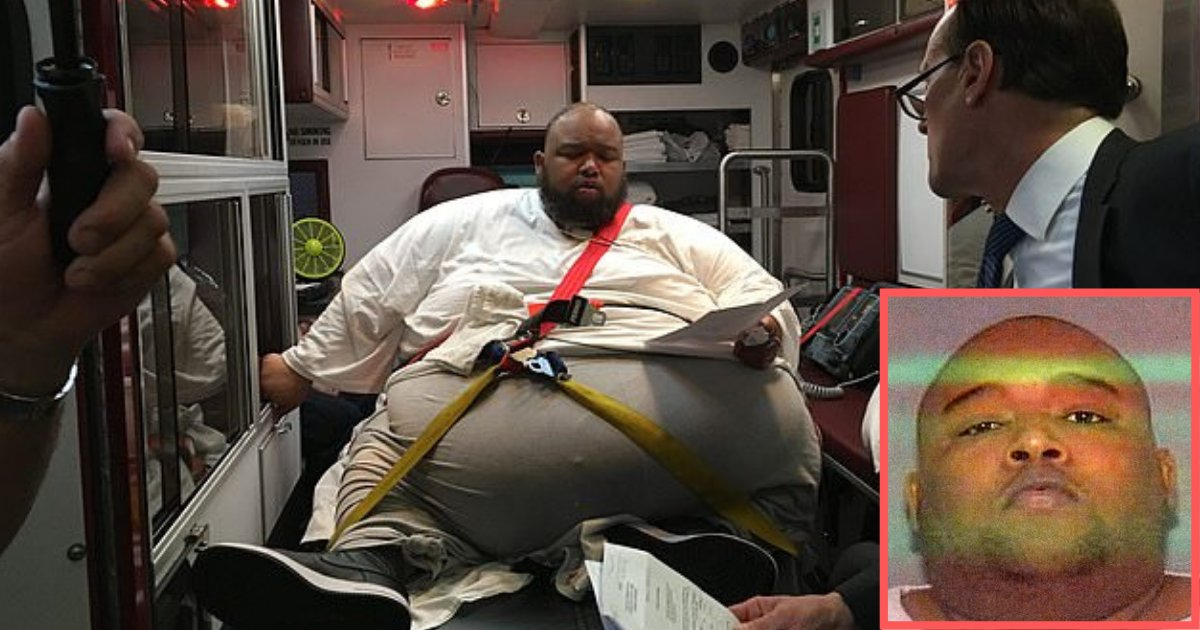 s4 1.png?resize=1200,630 - 600lb Drug Dealer Pleaded Guilty From Inside of an Ambulance Because He Was Not Able to Go to the Courtroom