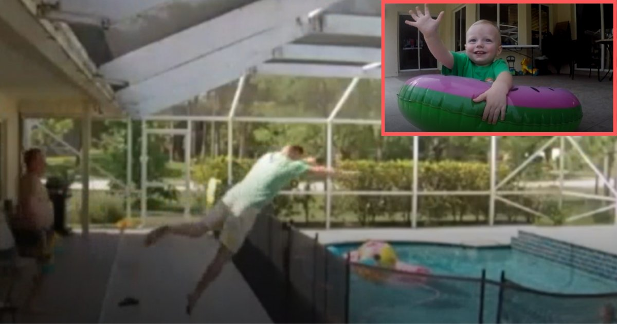 s6.png?resize=412,232 - Father Does Incredible Leap Into Pool To Save His Drowning Son