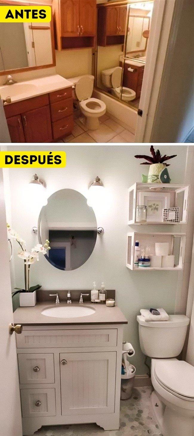 13Soluciones dediseño para convertir unbaño pequeño enuno espacioso
