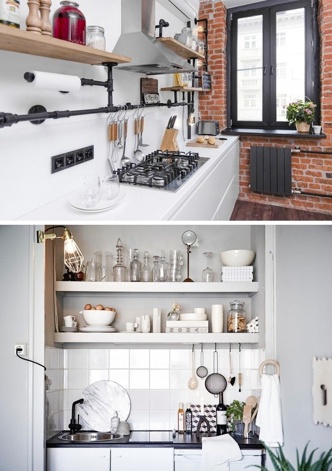 10Maneras deorganizar una cocina pequeña enlaque quepa todo