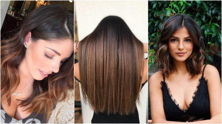Chicas mostrando su cabello teñido en color Caramel ombre por tendencia primaveral
