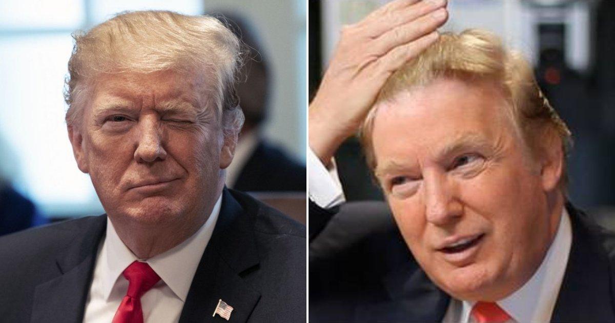 trump1.png?resize=412,232 - Le président Trump a une nouvelle coiffure qui a presque fait exploser Internet !