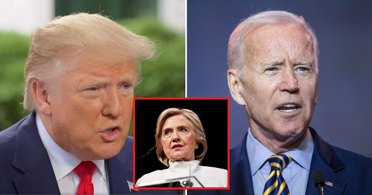 trump4 1.png?resize=412,232 - Trump Says He Would Rather Run Against 'Sleepy Joe Biden' Than 'Ruthless Hillary Clinton'