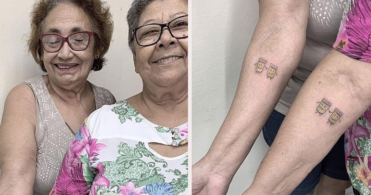 untitled 1 27.jpg?resize=412,275 - Two Ladies Celebrated Their 30-Years Of Friendship By Getting A Matching Tattoo