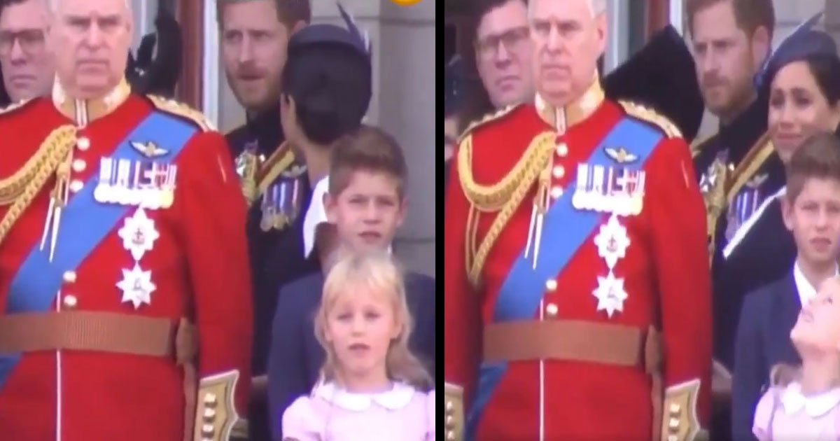 untitled 1 37.jpg?resize=1200,630 - Meghan Markle Was Told To 'Turn Around' By Prince Harry At The Trooping Of The Colour