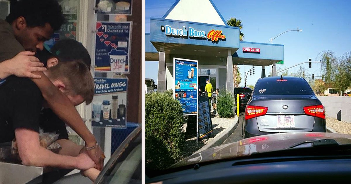 untitled 1 45.jpg?resize=412,232 - A Crying Widow Pulled Into The Drive-Thru, Kind Employees Drop Everything To Pray With Her