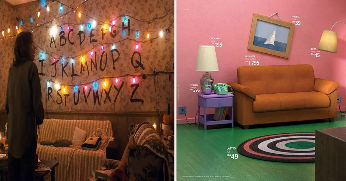 untitled 1 5.jpg?resize=1200,630 - Ikea Recreated Iconic Living Rooms From The Simpsons, Friends And Stranger Things, And It's Amazing