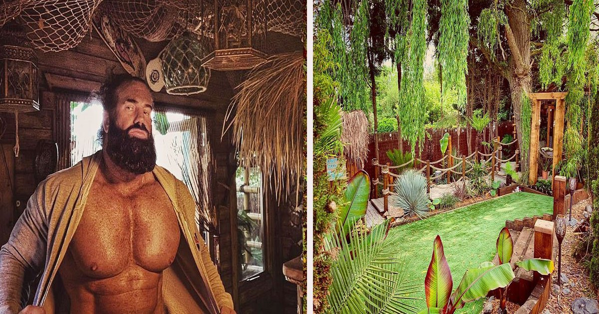 untitled 1 60.jpg?resize=412,232 - A Man Spent Two Years Transforming His Backyard Into A Tropical Tiki Paradise For His Wife
