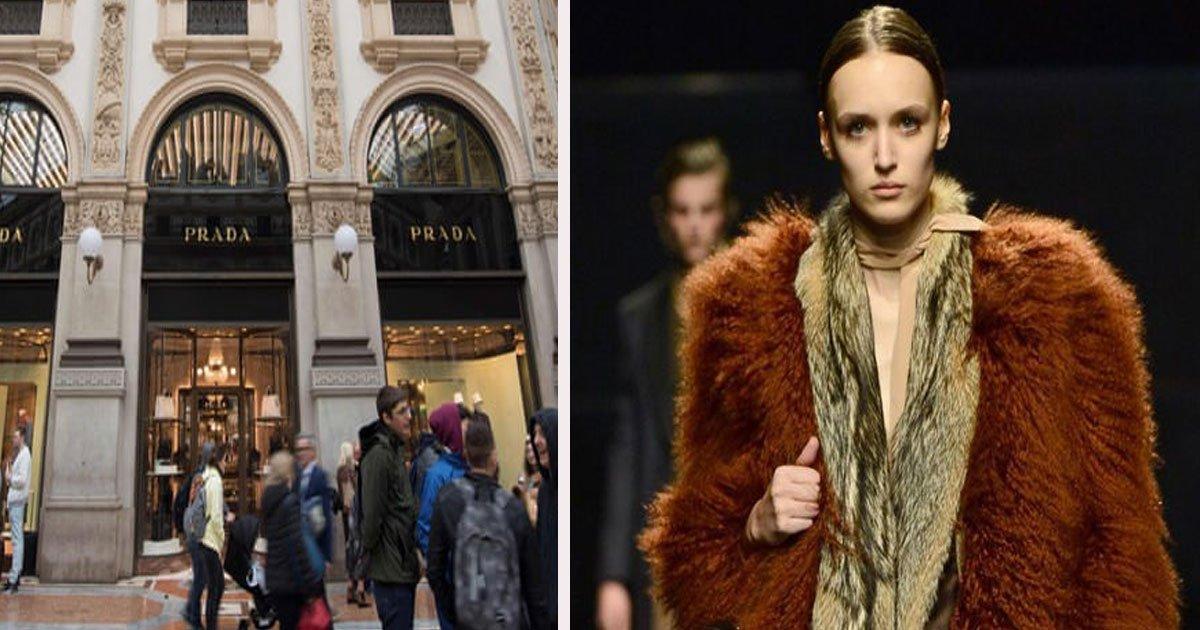 untitled 1 8.jpg?resize=300,169 - The Italian Luxury Fashion House 'Prada' Announced It Is To Go Fur-Free