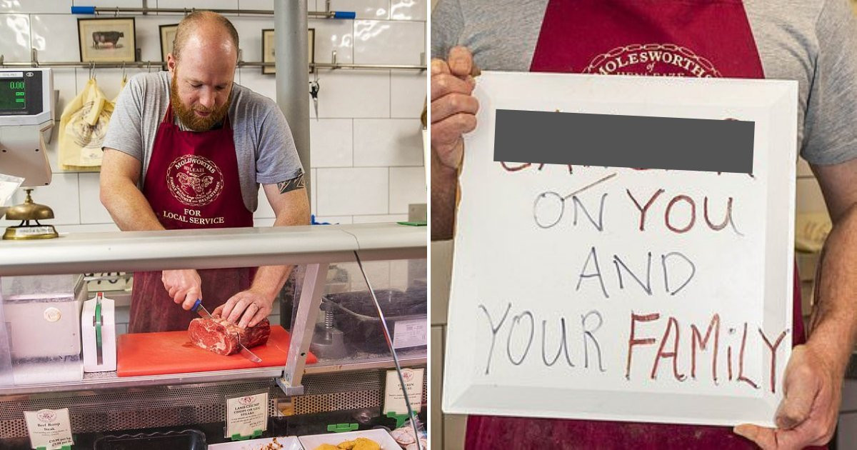untitled design 5.png?resize=1200,630 - Vegan Activists Targeted Butcher's Store And Wished The Owner And His Family Disease