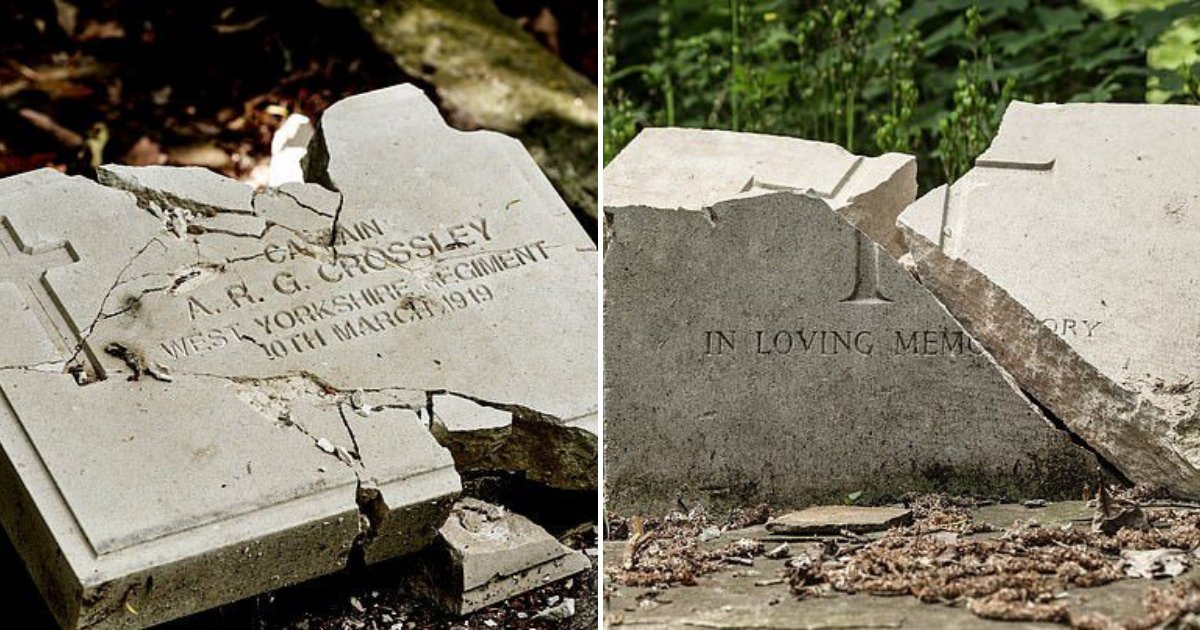 untitled design 57.png?resize=412,232 - Evil Thugs Vandalized And Smashed The Graves Of Fallen World War Heroes