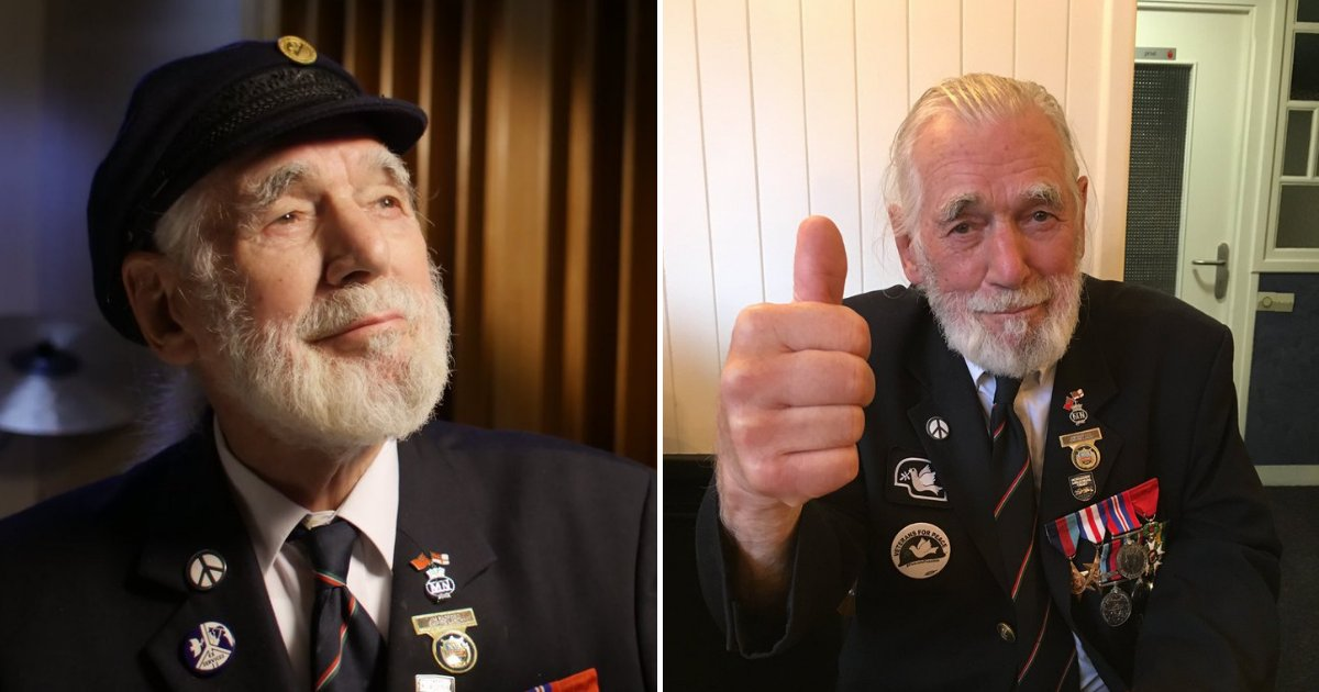untitled design 75.png?resize=1200,630 - 90-Year-Old Veteran's War Song Beats Popular Singers On Amazon Music Charts