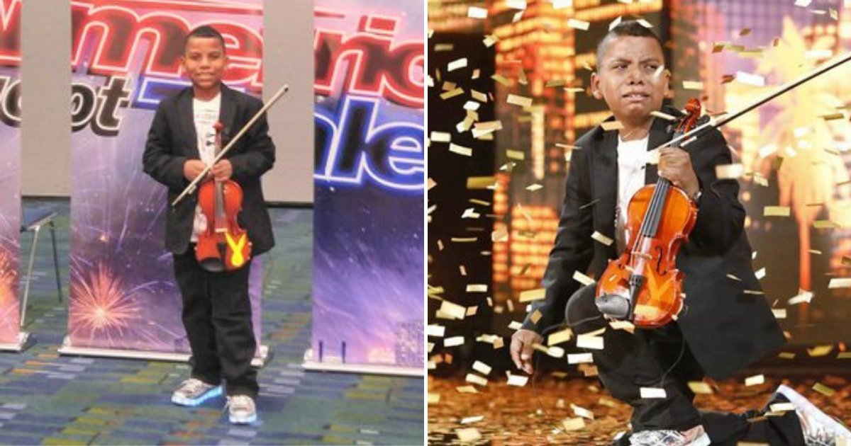 untitled design 92.png?resize=732,290 - 11-Year-Old Boy Wins The Crowd With His Touching Performance After Beating Cancer