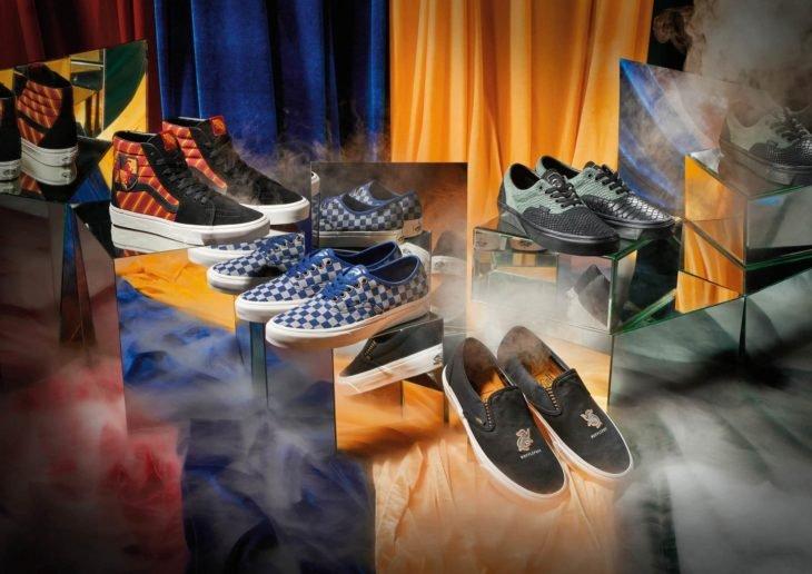 Vans lanza colección de tenis de Harry Potter; calzado de Ravenclaw, Hufflepuff, Slytherin y Gryffindor