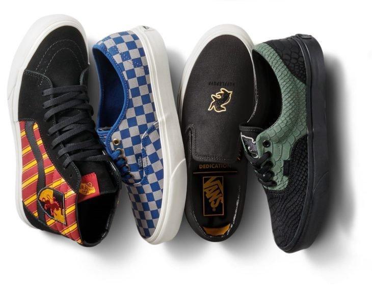 Vans lanza colección de tenis de Harry Potter; calzado de Gryffindor, Hufflepuff, Ravenclaw y Slytherin