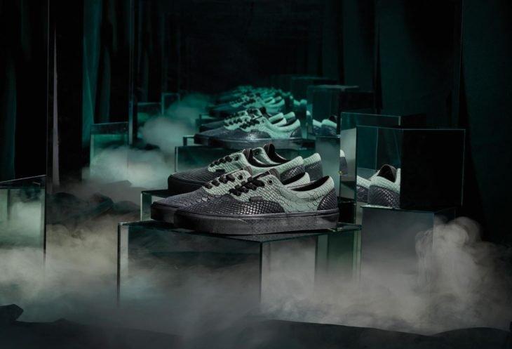 Vans lanza colección de tenis de Harry Potter; calzado de Slytherin