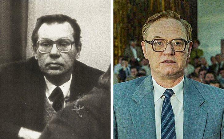 """Cómo eran en la vida real los protagonistas de la serie """"Chernobyl"""""""