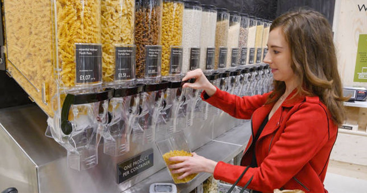 waitrose launched a scheme to bring your own containers to reduce plastic waste.jpg?resize=412,232 - A Supermarket Launched 'Bring Your Own Containers' Campaign To Reduce Plastic Waste