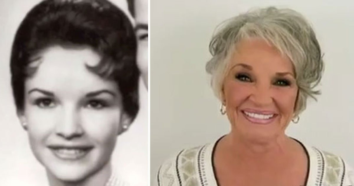 woman removes makeup after 50 years.jpg?resize=1200,630 - Mother Removed Her Makeup In Public For The First Time In Over 50 Years