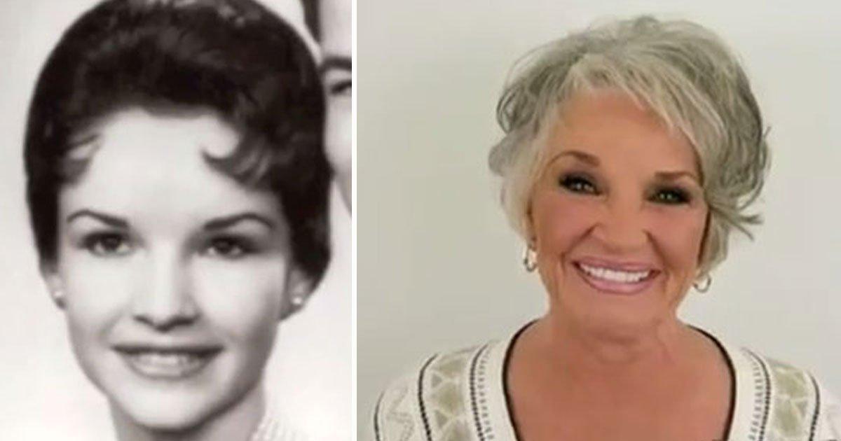 woman removes makeup after 50 years.jpg?resize=412,232 - Une femme se démaquille pour la première fois depuis 50 ans