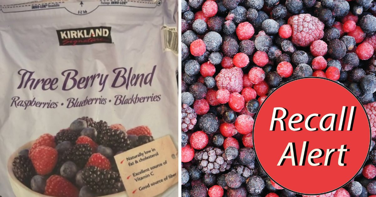 Costco and Kroger Have Recalled Their Berries Because of
