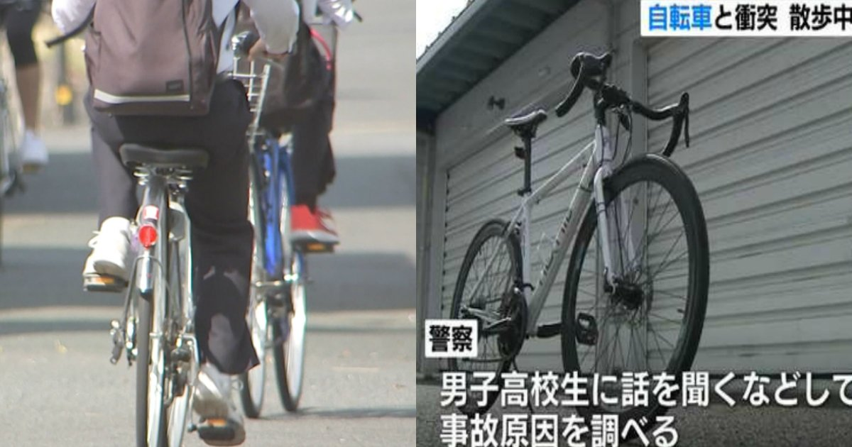 ziko.jpg?resize=1200,630 - 熊本で高校生が乗る自転車と衝突し、散歩中の79歳男性が死亡