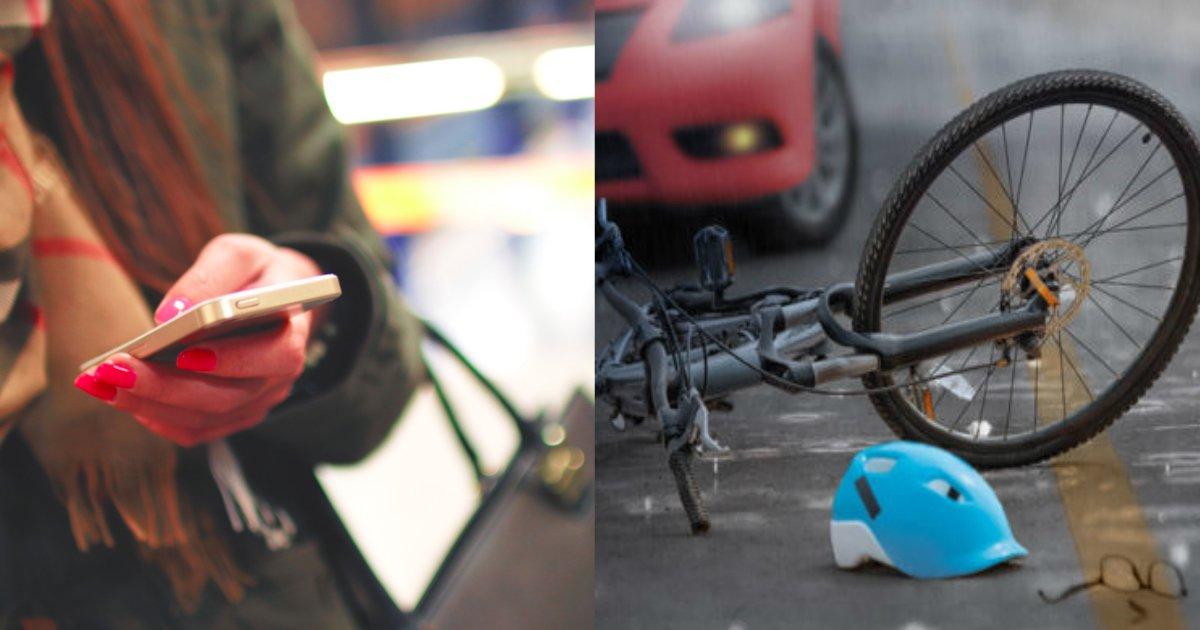 zitensya.jpg?resize=1200,630 - 歩きスマホの女性に自転車の男性が激突!男性が待っていた悲劇とは…