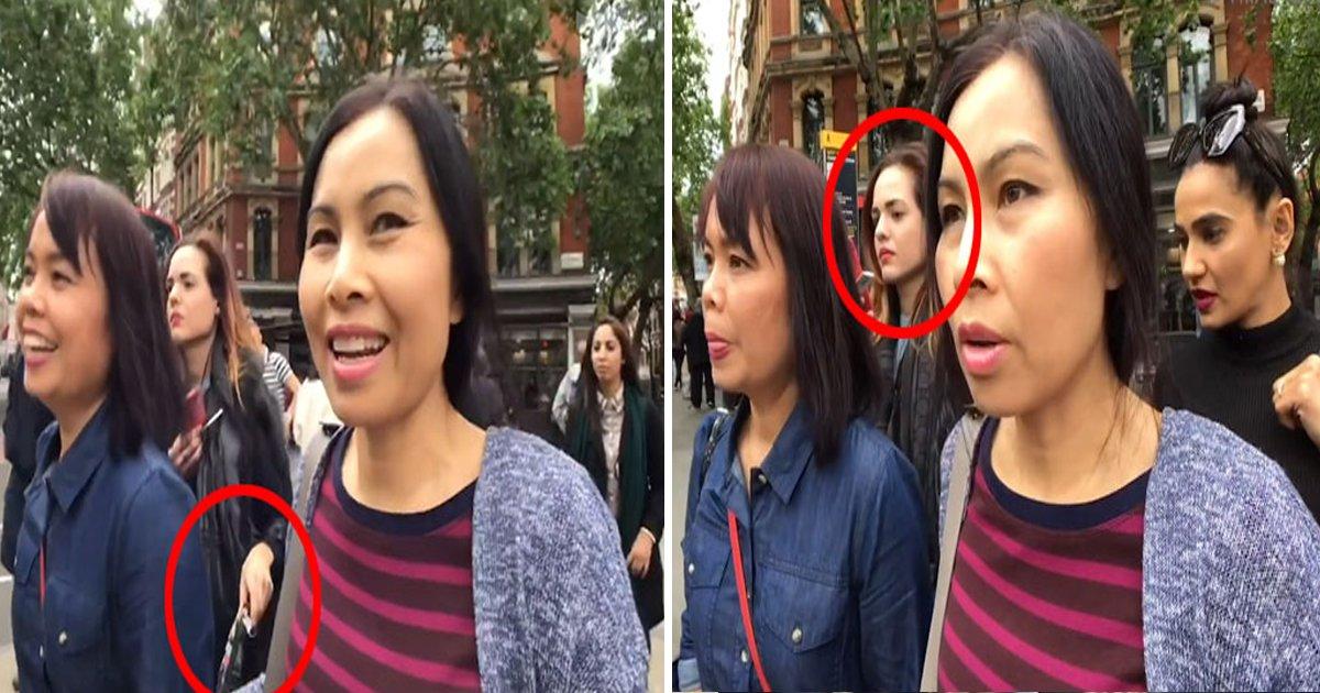 1 151.jpg?resize=412,232 - Des touristes thaïlandaises victimes de pickpockets à Londres, elles avaient toute la scène en vidéo