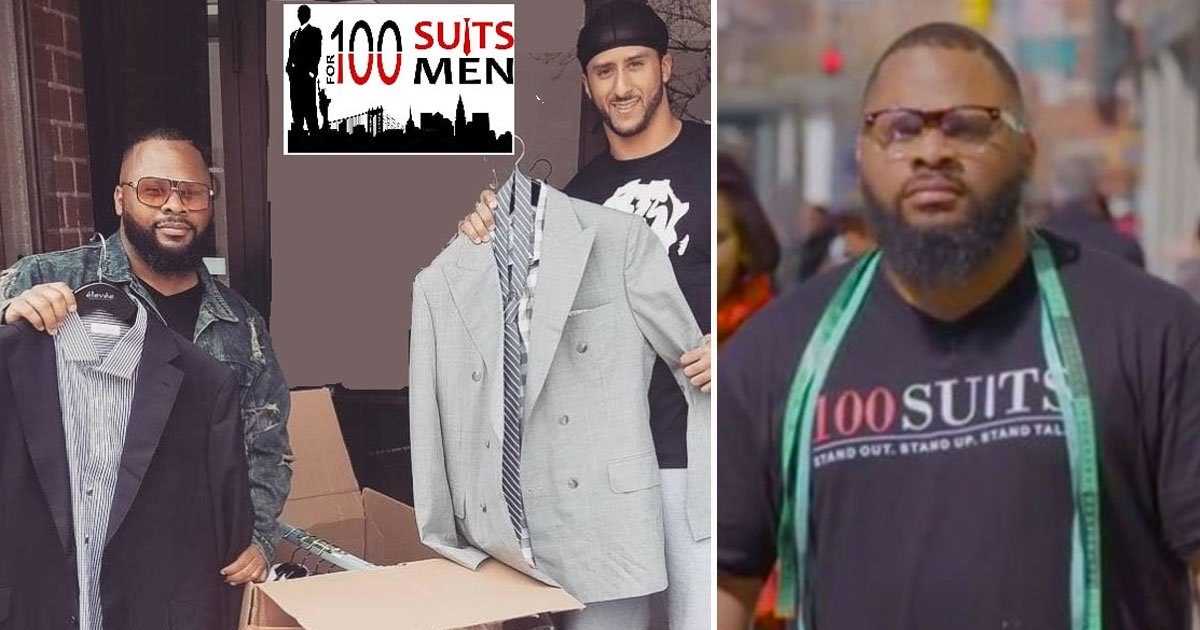100 suits.jpg?resize=412,232 - 100 Suits - A Non-Profit That Provides Free Suits To Underprivileged Men And Ex-Convicts
