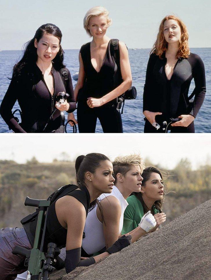 """Cómo lucen las heroínas del cine siendo interpretadas por nuevas mujeres (""""Hechiceras"""" es una de nuestras favoritas)"""