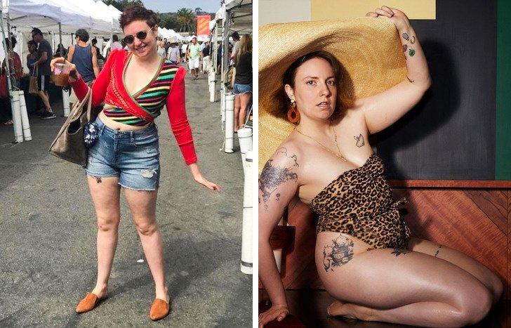 13 Celebridades que demostraron que el éxito no depende de la talla de la ropa
