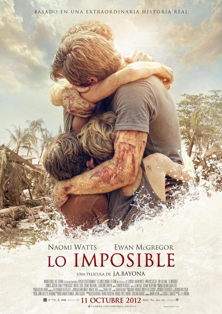 Resultado de imagen de Lo imposible – 2012