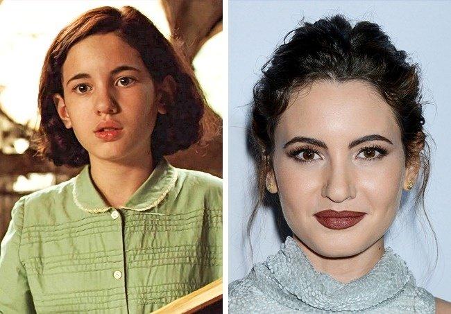 Antes y después niños películas de terror El laberinto del fauno