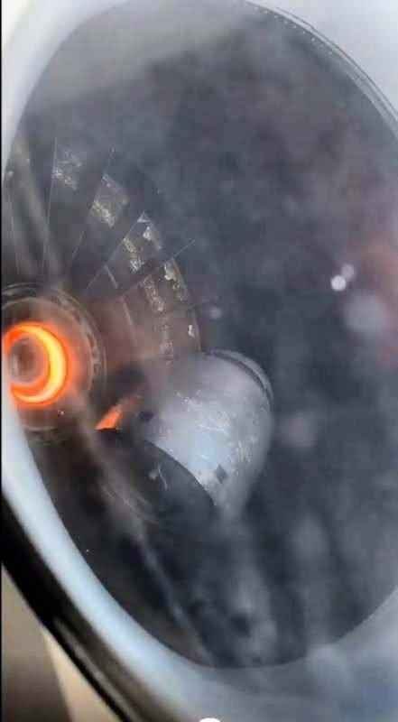 Delta MD-88 experiences unusual engine failure