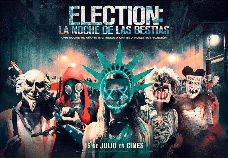 Resultado de imagen de Election: La noche de las bestias