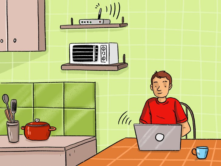 8 Objetos que você possui em casa e que podem fazer com que o Wi-Fi funcione mal