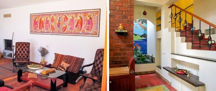interior de casa india