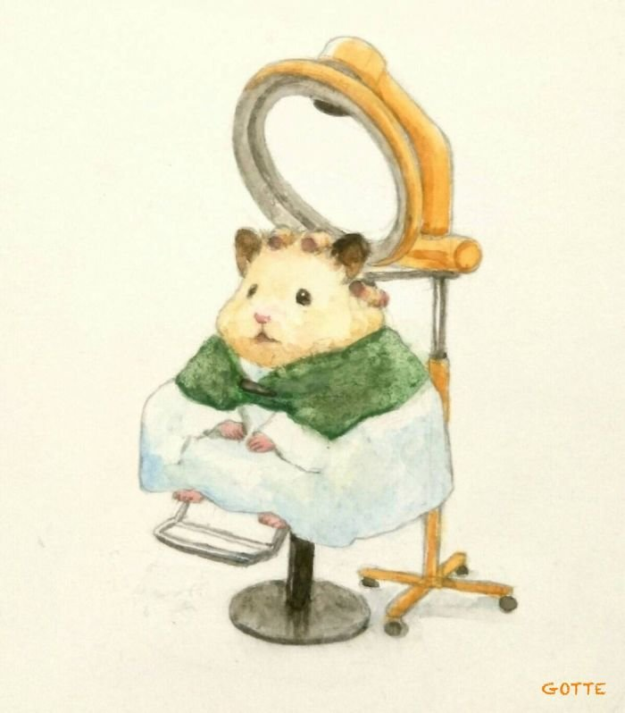Artist Illustrates The Typical Life Of A Japanese Hamster And The Result Is Very Cute