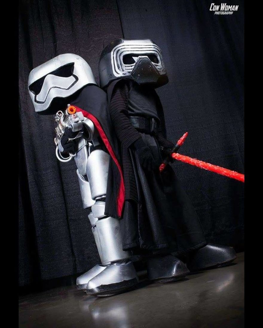 Captain Phasma And Kylo Ren