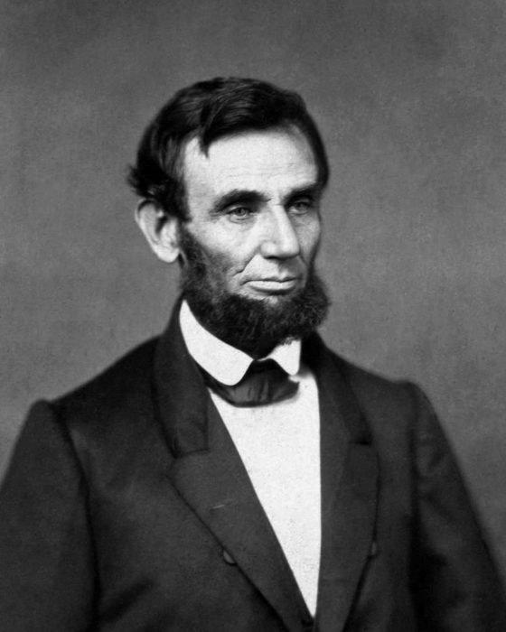Abraham Lincoln presidente de los Estados Unidos