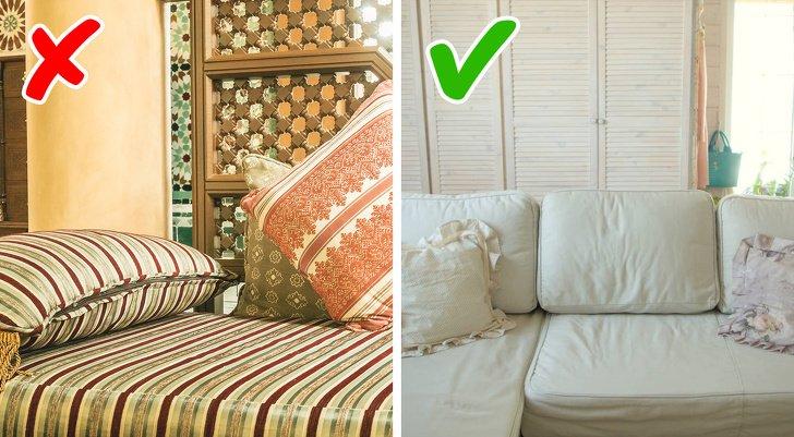 12Errores comunes que secometen aldecorar departamentos pequeños (Spoiler: olvídate deestampado floral enlas paredes)