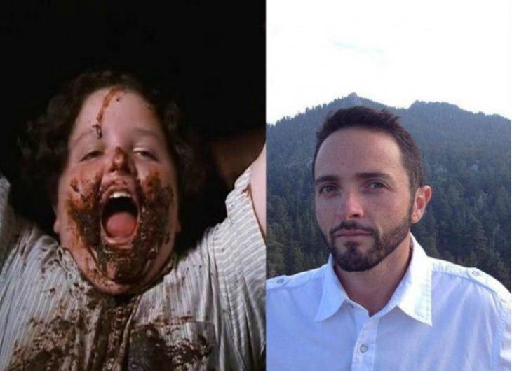 Bruce el niño de matilda antes y ahora