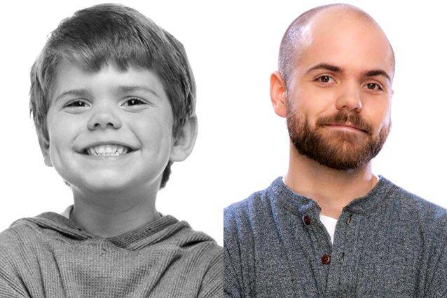 spanky antes y ahora