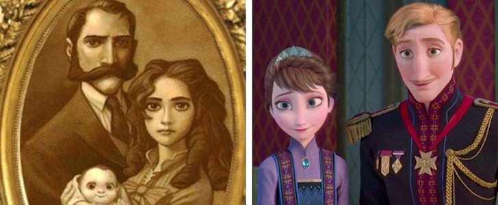 Tarzán es hermano de Anna y Elsa de la película Frozen