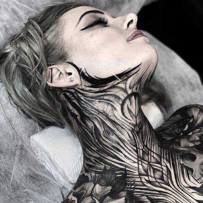 Freehand Full Body Tattoo